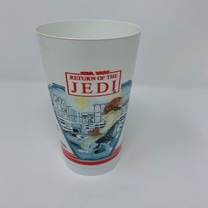 Return of the Jedi Vintage collectible plastic cup